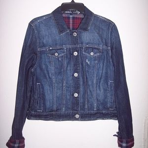 American Eagle Denim Jacket Size XL